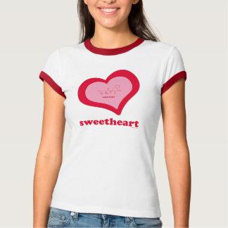 Sweetheart-Aspartame Women's Ringer T-Shirt