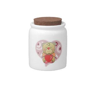 Sweetheart Bear Candy Jar