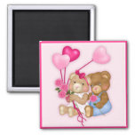 Sweetheart Bears Refrigerator Magnets