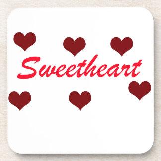 Sweetheart Beverage Coaster