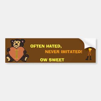 Sweetheart bumper Sticker