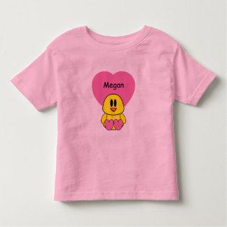 Sweetheart Chick Custom Toddler T-shirt
