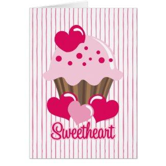 Sweetheart Cupcake Card