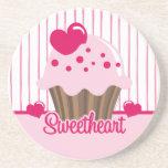Sweetheart Cupcake Coaster
