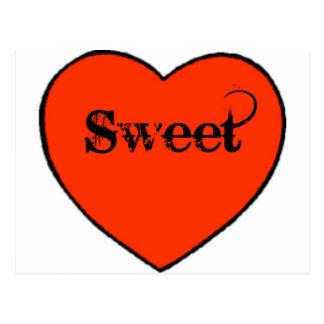 sweetheart cute post card