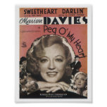 Sweetheart Darlin Music Cover Art Poster