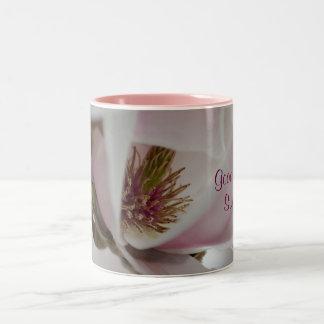 """sweetheart good morning"" by mysteryella Two-Tone coffee mug"