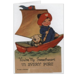 Sweetheart in Every Port Greeting Card