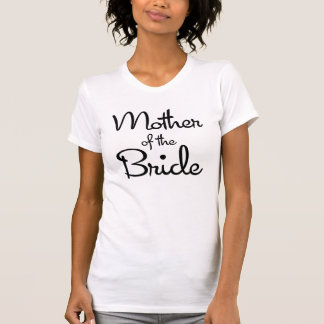 Sweetheart Mother of the Bride Baby Doll T-Shirt