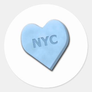 Sweetheart NYC Classic Round Sticker
