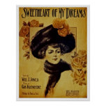 Sweetheart Of My Dreams Poster