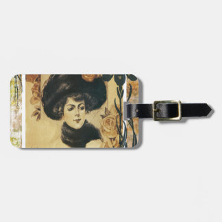 Sweetheart Of My Dreams Vintage Sheet Music Luggage Tag