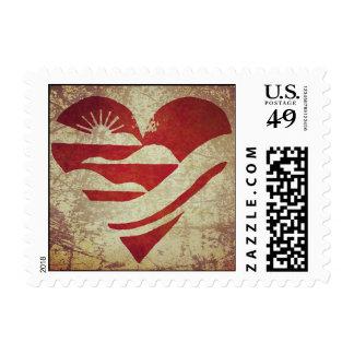 Sweetheart of Ohio Postage