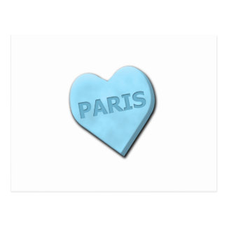 Sweetheart Paris Postcard