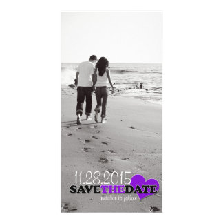 """Sweetheart Photo """"Save-the-Date"""" Announcement Card"""