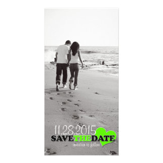 """Sweetheart Photo """"Save-the-Date"""" Announcement Card Personalized Photo Card"""