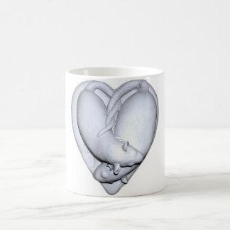 Sweetheart Rats Sculpture Mug