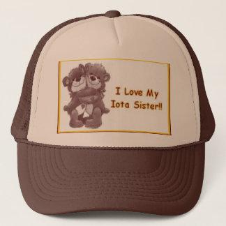 sweetheart sis trucker hat
