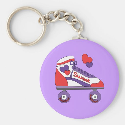 Sweetheart Skate Key Chains