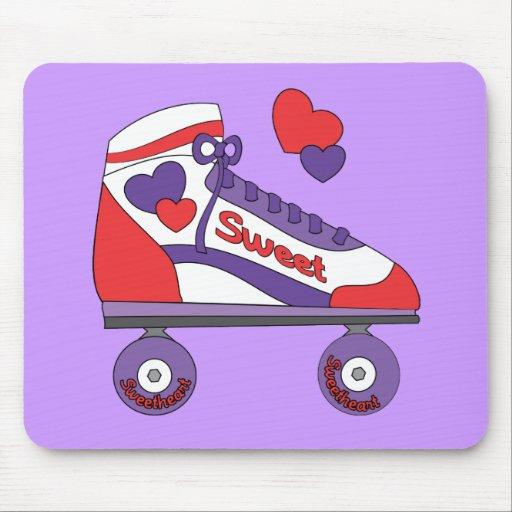 Sweetheart Skate Mouse Pad