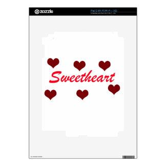 Sweetheart iPad 2 Decals