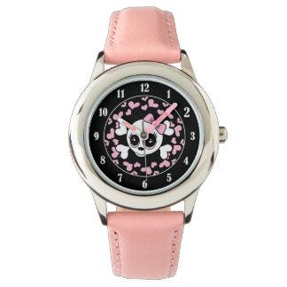 Sweetheart Skull Wrist Watch