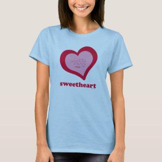 Sweetheart-Sucrose Women's Babydoll T-Shirt