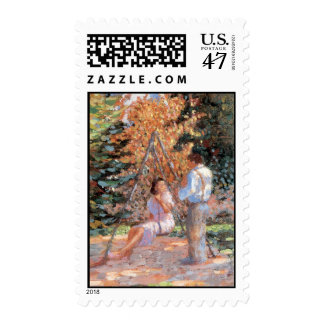 Sweetheart Swing postage stamp