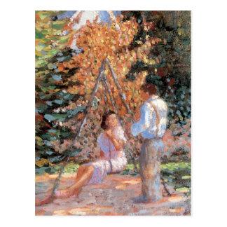 Sweetheart Swing postcard