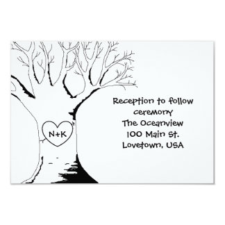 """""""Sweetheart Tree"""" Reception Cards"""