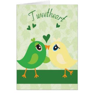 Sweetheart -tweetheart card