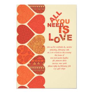 Sweetheart Valentine Invitation