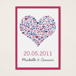 Sweetheart Wedding Place Card