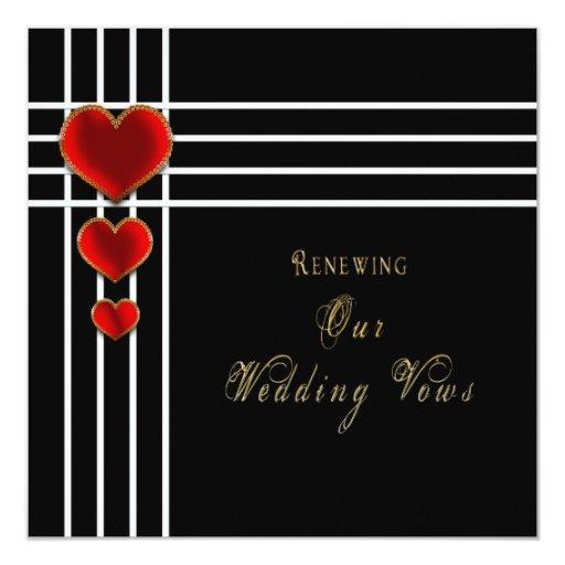 Romantic Places Renew Wedding Vows: Sweetheart Wedding Renewing Vows Invitation