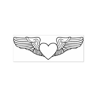 Sweetheart Wings Military Spouse Stamp