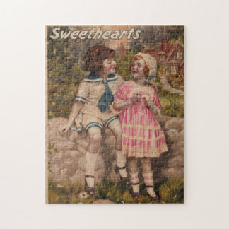 Sweethearts Antique Vintage Puzzle