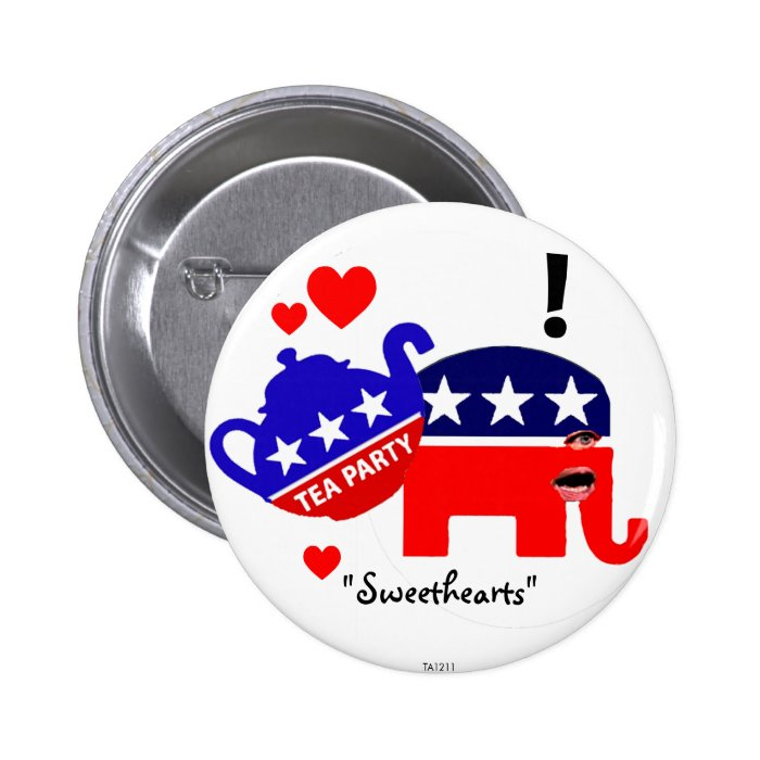 Sweethearts - Button