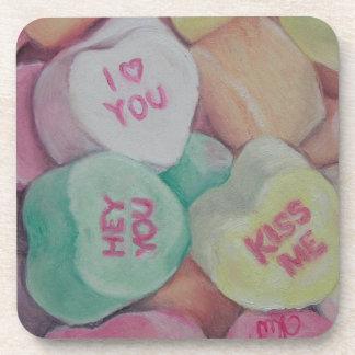 Sweethearts - Cork Coaster