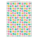 Sweethearts in Multi Pastels Greeting Card