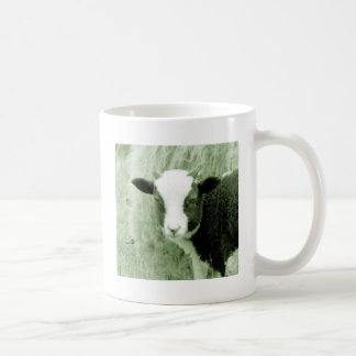 Sweetheart's Lamb in Greenish Tones Coffee Mug