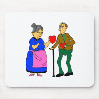 sweethearts mouse pad