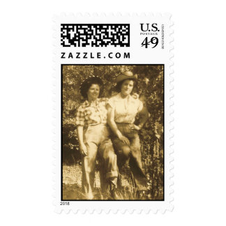 SWEETHEARTS OF THE RODEO POSTAGE STAMP