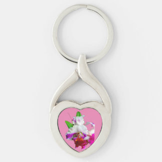 SWEETHEARTS ORCHID BLOSSOM GIFT Keychain