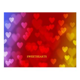 SWEETHEARTS POST CARD