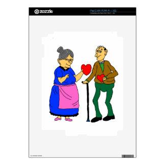 sweethearts iPad 2 decal