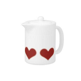 Sweethearts Teapot