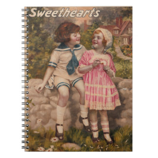 Sweethearts Vintage Notebook