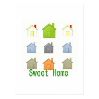 SweetHome House Warming Party Postcard