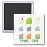 SweetHome House Warming Party Refrigerator Magnet