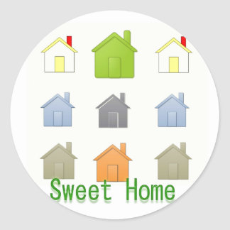 SweetHome House Warming Party Stickers
